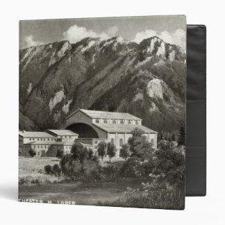 The Theatre at Oberammergau, 1930 3 Ring Binder