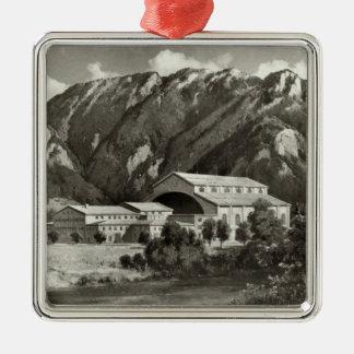 The Theatre at Oberammergau, 1930 Metal Ornament