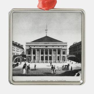 The Theatre de l'Odeon, c.1830 Christmas Ornament