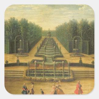 The Theatre d'Eau at Versailles Square Sticker