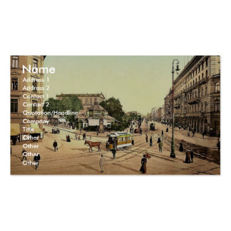 The theatre, Hanover, Hanover, Germany rare Photoc Double-Sided Standard Business Cards (Pack Of 100)