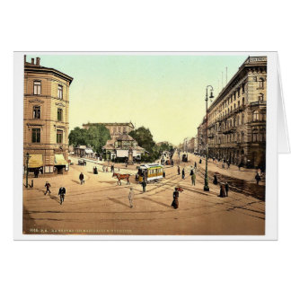 The theatre, Hanover, Hanover, Germany rare Photoc Greeting Card