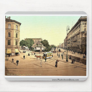 The theatre, Hanover, Hanover, Germany rare Photoc Mouse Pad