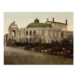 The Theatre, Odessa, Russia, (i.e., Ukraine) class Postcard