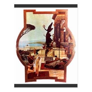 The Theatre of Taormina by Gustav Klimt Postcard