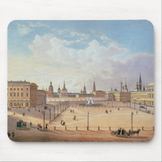 The Theatre Square in Moscow Mouse Pad