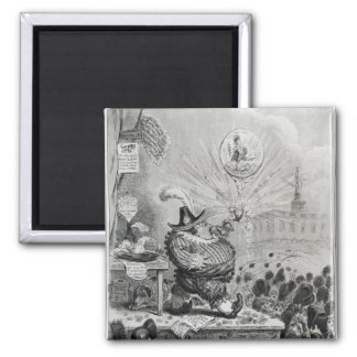 The Theatrical Bubble 2 Inch Square Magnet