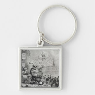 The Theatrical Bubble Key Chain