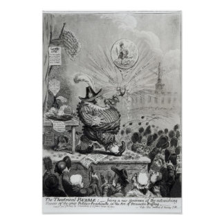 The Theatrical Bubble Print
