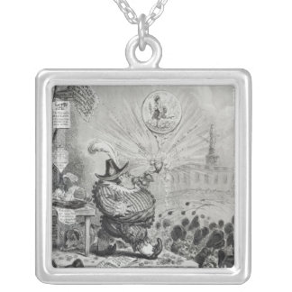 The Theatrical Bubble Silver Plated Necklace