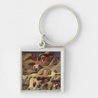 The Thebaid, c.1410 Keychain