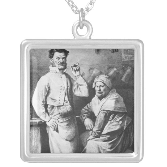 The Thenardier Silver Plated Necklace
