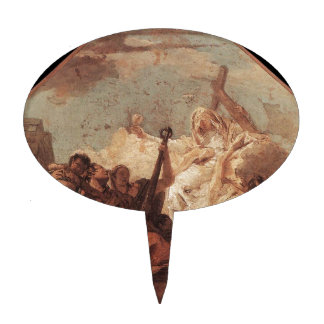 The Theological Virtues Giovanni Battista Tiepolo Cake Topper