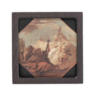The Theological Virtues Giovanni Battista Tiepolo Keepsake Box