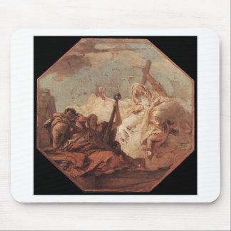 The Theological Virtues Giovanni Battista Tiepolo Mouse Pad