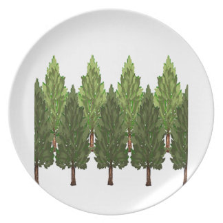THE THICK FOREST PLATE