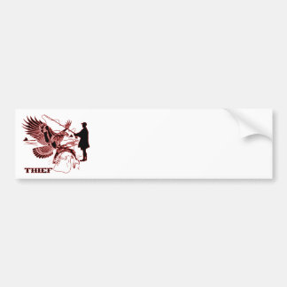 The-Thief-1-A Bumper Sticker