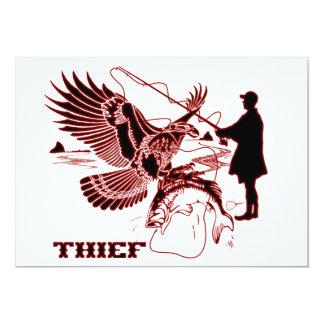 "The-Thief-1-A Invitación 5"" X 7"""