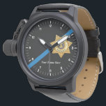 "The Thin Blue Line Deputy Sheriff Watch<br><div class=""desc"">The Thin Blue Line Deputy Sheriff Watch</div>"