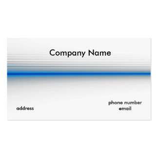 The Thin Blue Line Double-Sided Standard Business Cards (Pack Of 100)