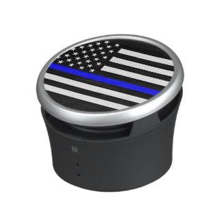The Thin Blue Line Graphic Decor Display Speaker