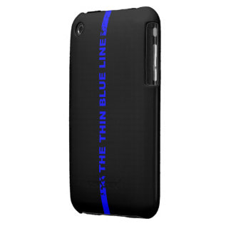 The Thin Blue Line iPhone 3 Cases