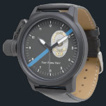 "The Thin Blue Line Police Officer Watch<br><div class=""desc"">The Thin Blue Line Police Officer Watch</div>"