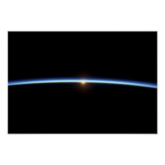 The thin line of Earth's atmosphere 2 Poster