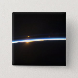 The thin line of Earth's atmosphere Button