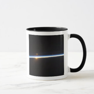 The thin line of Earth's atmosphere Mug