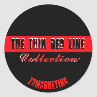 The Thin Red Line Sticker Fire Dept. Collection