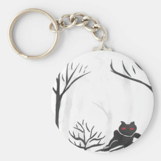 The Thing in the Forest Keychain