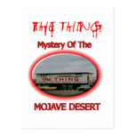 The Thing Roadside Attraction Post Card