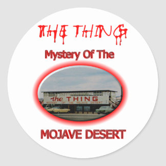 The Thing Roadside Attraction Stickers
