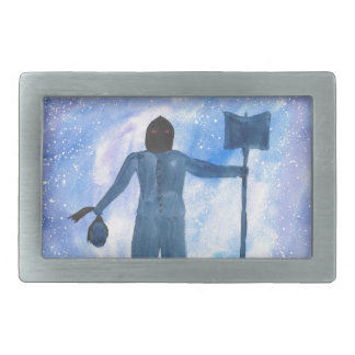 The Thing That Haunts The Old Highway Rectangular Belt Buckle
