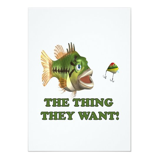 The Thing They Want 2 Card