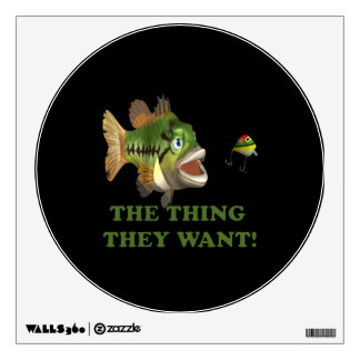 The Thing They Want 2 Wall Sticker