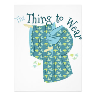 The Thing To Wear Letterhead