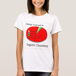 The Things I learned in Organic Chemistry T-Shirt