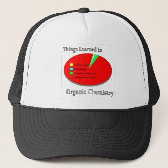 The Things I learned in Organic Chemistry Trucker Hat