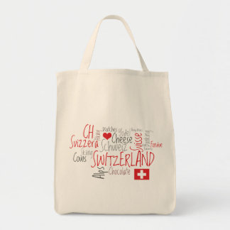 The Things I Love About Switzerland Tote Bag