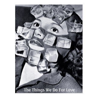 The Things We Do For Love - Postcard
