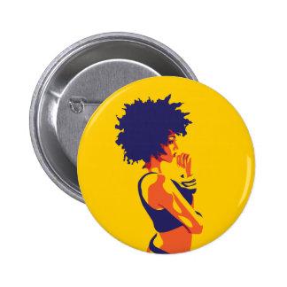 The Thinker 2 Inch Round Button