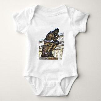 The thinker baby bodysuit