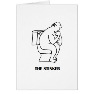 The Thinker Birthday Card
