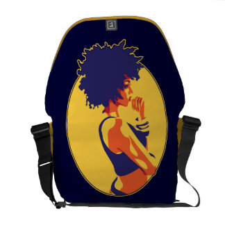 The Thinker Courier Bags