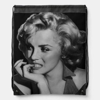 The Thinker Drawstring Bag
