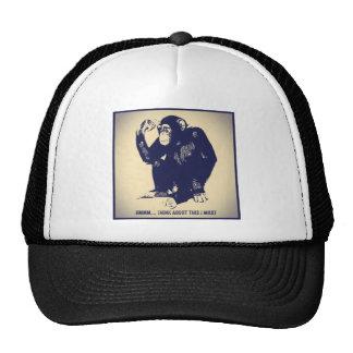 The Thinker Trucker Hat