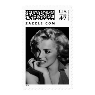 The Thinker Postage Stamp