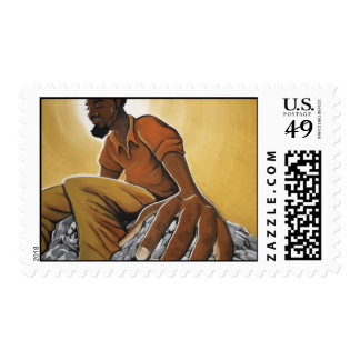 The Thinker Stamp